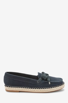 Espadrille Boat Shoes
