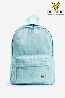 Lyle & Scott Blue Pool Print Backpack
