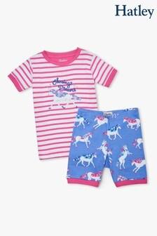 Hatley Dreamy Unicorns Organic Cotton Short Pyjama Set