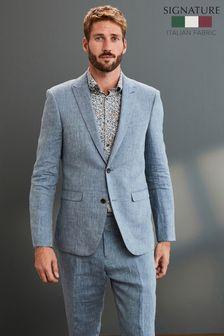 Signature Linen Suit: Jacket
