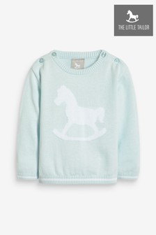 The Little Tailor Baby-Strickpullover, blau