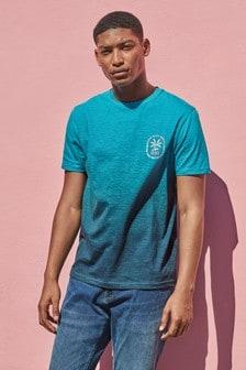 Dip Dye Graphic Regular Fit T-Shirt