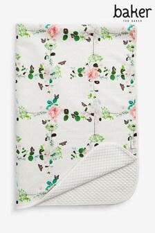 بطانية زهور منBaker by Ted Baker