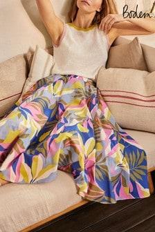 Boden Pink Corinne Full Skirt