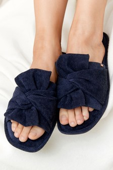 Bow Slider Slippers