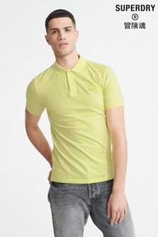 Superdry有機棉Micro Lite凸紋Polo衫