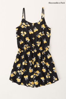 Abercrombie & Fitch Button Front Playsuit