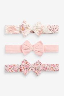 Haarbänder mit Schleife, 3er-Pack (Jünger)