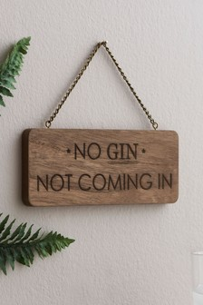No Gin Hanging Decoration