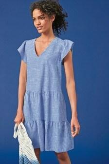 Многоярусное платье