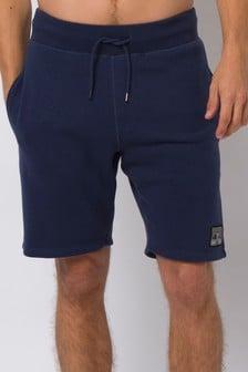 Animal Indigo Blue Maxwell Sweat Shorts