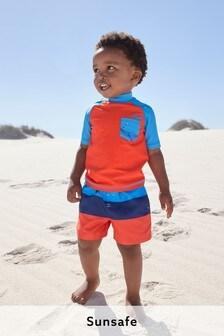 Sonnenschutzset mit Trägertop und Shorts (3Monate bis 7Jahre)