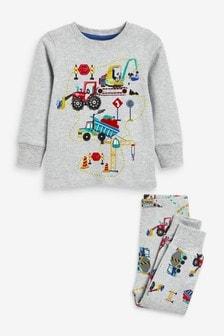 Construction Vehicle Pyjamas