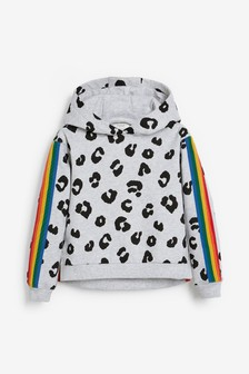 Mix/Madeleine Thompson Rainbow Stripe Hoody
