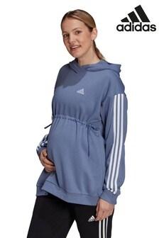adidas Maternity Longline Pullover Hoodie