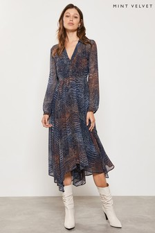 Mint Velvet Marlee Utility Trapeze Dress
