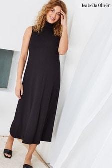 Isabella Oliver Black Stella Maternity Dress