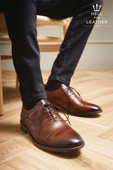 Oxford-Schuhe aus Led mit Zehenkappe