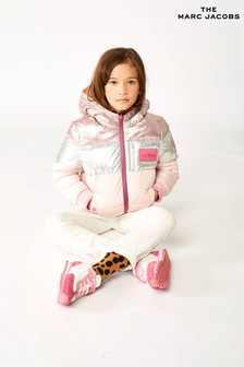 The Marc Jacobs Pink Reversible Padded Jacket