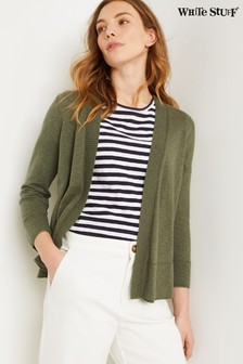 White Stuff Green Ocean Cardigans