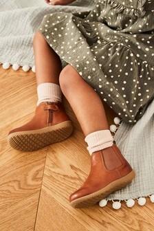 Ботинки Chelsea из высококачественной кожи