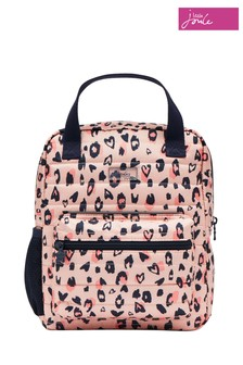 Joules Pink Venture Puffa Backpack