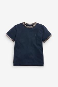 Tričko s kontrastným lemom (3 – 16 rok.)