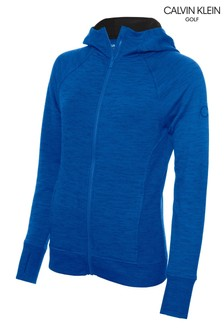 Calvin Klein Golf Blue Zip Through Hoodie