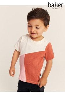 Camiseta con diseño colour block deBaker by Ted Baker