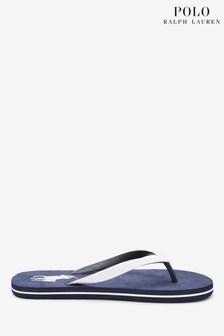 Polo Ralph Lauren Contrast Logo Whitlebury Flip Flops