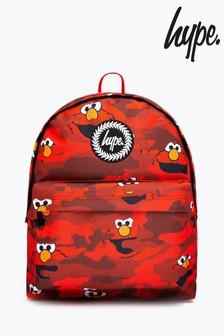 Hype. x Sesame Street Elmo Red Camo Backpack