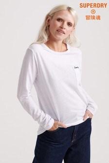 Superdry Label Essential Long Sleeve Top