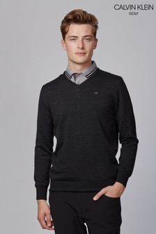 Calvin Klein Golf Easy Care Merino Sweater