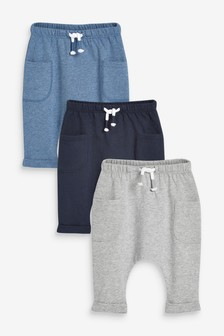 3 Pack Joggers (0mths-2yrs)