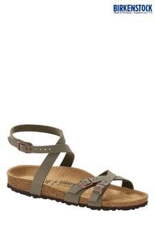 Birkenstock Stone 3 Strap Blanca Sandals