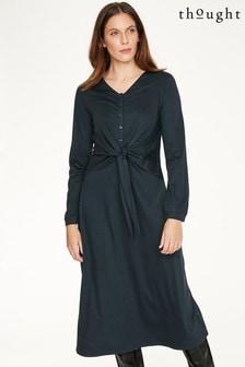שמלה של Thought דגם Lamarck בכחול
