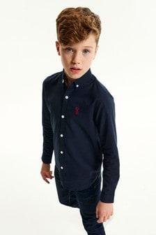 Long Sleeve Oxford Shirt (3-16yrs)