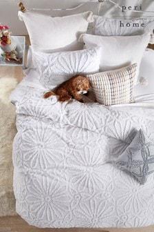 Peri Home Grey Metallic Decorative Cushion