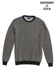 Superdry Charcoal Crew Neck Jumper