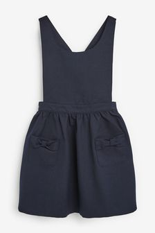 Bow Pinafore (3-14yrs)