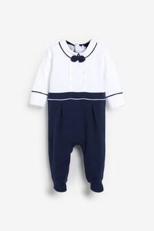 Пижама в стиле моряка  (0 мес. - 2 лет)