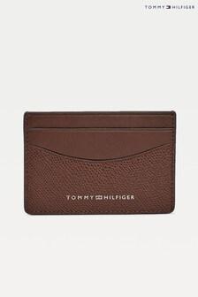 Tommy Hilfiger Brown Business Mini Card Holder