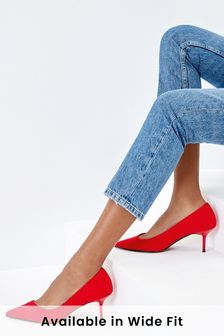 Асимметричные туфли на каблуке-рюмочке