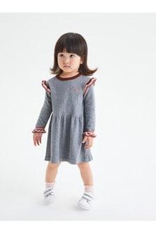 Peplum Tipped Jumper Dress (3mths-7yrs)