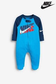 Pelele de bebé azul Futura de Nike