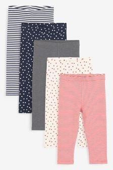 5 件裝內搭褲 (3個月至7歲)