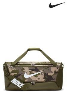 Nike Brasilia Medium Camo Duffle Bag