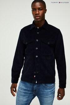 Tommy Hilfiger Blue Corduroy Overshirt