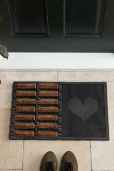 Heart Boot Scraper Doormat (979598) | $26