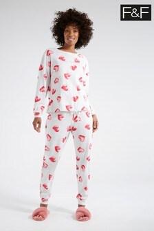 F&F Pink Heart Pyjamas